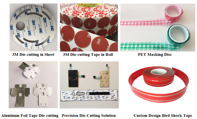Kiss Cutting 3M Scotch Tape Double Sided Foam Tape VHB Tape Service For Customized 3M Product