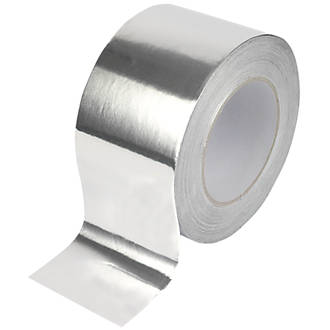 UL Classified Aluminum Foil Electrically Conductive Tape Duct Joints Wrinkle Free Conforms