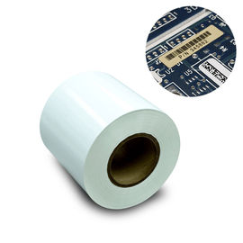 China 7812 50# 25# 3M Scotch Tape Thermal Transfer Polyimide Label White Color Acrylic Adhesive supplier