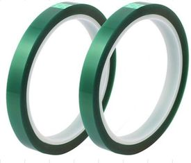 China Green PET Electrical Insulation Tape Use For Lithium Battery Terminal Tape supplier