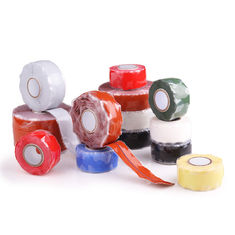 China Silicone Rubber Self Fusing Tape Rescue Bonding  Waterproof Silicone Repair Tape supplier