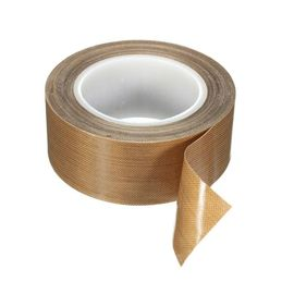 China 3mils/5mils PTFE Coated Fiberglass PTFE Film Tape with Silicone Adhesive for Heat Sealing Machine supplier