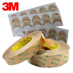 China 0.06MM Thickness 3M 467MP 468MP Adhesive Transfer Tape with Acrylic Adhesive 200 MP , Die Cutting , Clear Color supplier