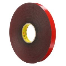 China 3M VHB Tape 4611 Double Sided Acrylic Tape, Dark Gray Color supplier