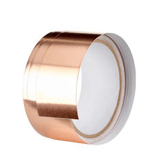 China Waterproof Copper Foil Electrically Conductive Tape For Greenhouse Slug Snails Barrier supplier
