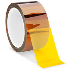 China 1mil Amber Polyimide Film Tape High Temperature Resistant for PCB Solder Mask supplier