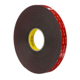 China 3M PT1100 3M Scotch Tape , Double Sided Automotive Tape Acrylic Black Foam 1.14mm Thickness supplier