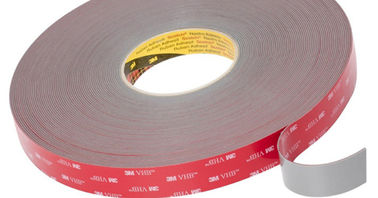 3M 1600T White Double Sided Adhesive PE Foam Tape thickness 1.1mm x 25mm Round