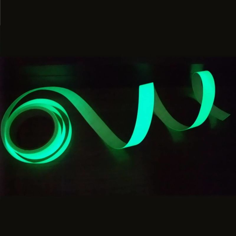 Glow in the Dark Waterproof tape Sky Blue Glowing for Signs Crafts etc