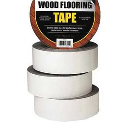 China Double Sided Carpet Tape wood flooring  tape excellent for masking line-to-line fit factory