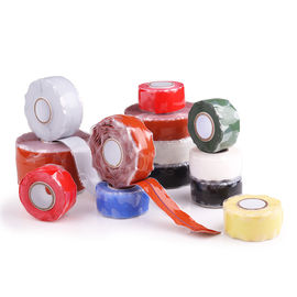 China Silicone Rubber Self Fusing Tape Rescue Bonding  Waterproof Silicone Repair Tape factory