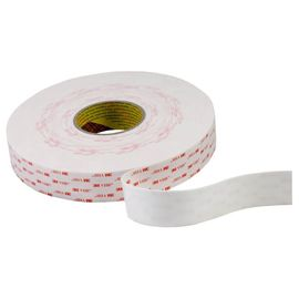 China 3M 4945 1.1mm Thickness White Acrylic Foam Tape Double Sided VHB Tape factory