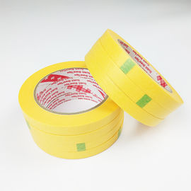 Single Sided UV resistance  Clean Removal  Good Painted Crepe Masking Paper Tape