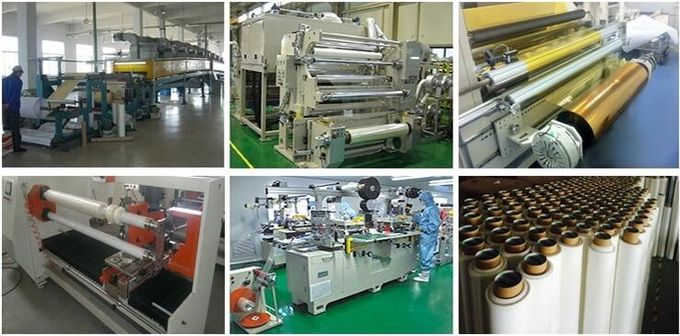 High temperature PTFE PTFE Fiber Glass cloth tape in Brown color use for Heat sealing machines